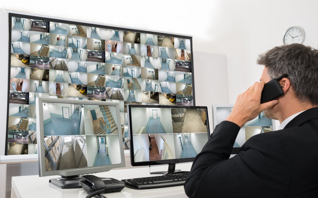 Business Security System monitoring