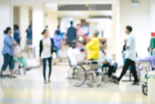 Healthcare facilities can get extremely busy